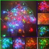 LEMONBEST Color Changing Starry Lights, RGB 10M 100 LED Fairy String Lights for Bedroom Christmas Home Garden Wedding