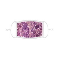 Rosy Sequin Mask with Filter
