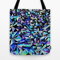 Geo Glass No.1 Tote Bag by House Of Jennifer