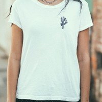 Brandy & Melville Deutschland - Margie Cactus Embroidery Top