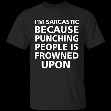 Sarcastic Punch T-Shirt