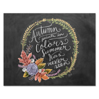 Autumn Paints in Colors - Print & Canvas