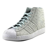 Adidas Superstar Up Round Toe Leather Sneakers