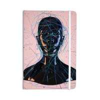 """Danny Ivan """"Calm Woman"""" Pink Black Everything Notebook"""