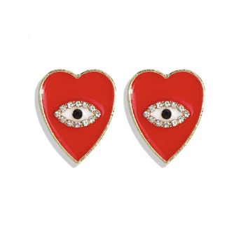 Camille Heart Earrings