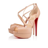 Cross Me 150mm Nude Leather