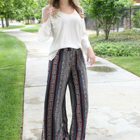 Living On A Prayer Palazzo Pants