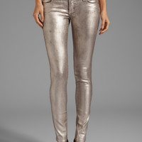 Frankie B. Jeans My BFF Jegging in Chrome from REVOLVEclothing.com