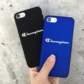 Champion Case for apple iphone 7 6 6s plus luxury  protection Cases