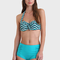 Westerly High-Waisted Two-Piece Swimsuit