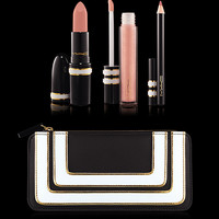 M·A·C Cosmetics | New Collections > Lips > Stroke of Midnight Lip Bag: Nude