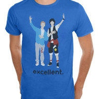 Bill & Ted's Excellent Adventure Excellent Cartoon T-Shirt