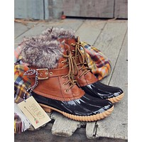 The Alpine Duck Boots