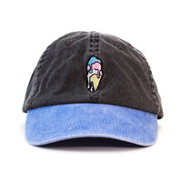 Ice Cream Outdoors Cap (Black and Blue)