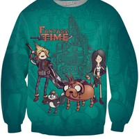 Fantasy Time Crewneck Sweatshirt
