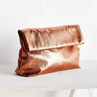 Silence + Noise Oversized Paperbag Clutch Bag