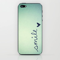 s m i l e iPhone & iPod Skin by Rubybirdie