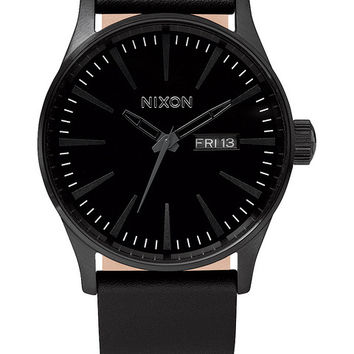 The Sentry Leather | Men's Watches | Nixon Watches and Premium Accessories