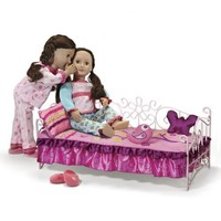 """Our Generation Scrollwork Bed For 18"""" Dolls"""