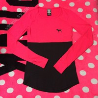 VS PINK Ultimate Raglan Tee
