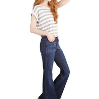 Faster and Fastener Jeans