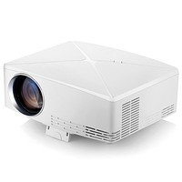 VIVIBRIGHT C80 LCD Home Theater Projector 1500 Lumens Support 1080P HDMI VGA USB for Laptop