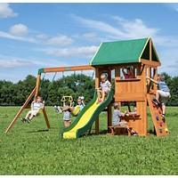 The Somerset Playset With Slide