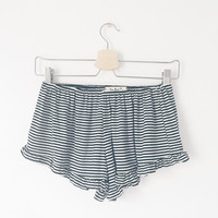 Jenny Striped Ruffle Shorts