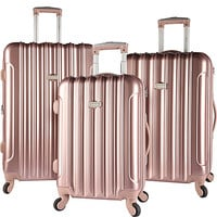 Kensie Luggage 3 PC Expandable Hard Side Spinner Luggage Set - eBags.com