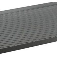 Chef's Design Reversible Hard-Coat Anodized Double Burner Grill/Griddle