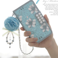 Fashion printing small bag phone Case(Sky Blue) for iPhone 5 5S 5C 6 6S 6Plus 6S Plus
