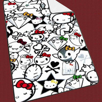 "Hello Kitty Kids Blanket Game Blanket All Character Popular Game, Cute and Awesome Blanket for your bedding, Blanket fleece ""NP"""
