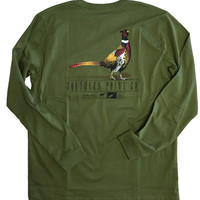 Southern Point - Signature L/S Tee Field Series Pheasant