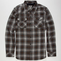 Metal Mulisha Griffin Mens Shirt Charcoal  In Sizes