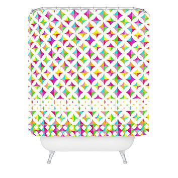 Aimee St Hill Color Block Shower Curtain