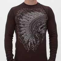 Affliction 50/50 Thermal Shirt