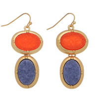 Yvonne Druzy Stone Earrings