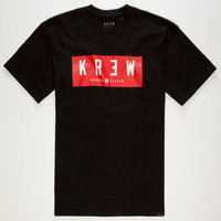 Kr3w Lock Box 2 Mens T-Shirt Black  In Sizes