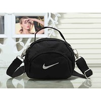 Nike Trending Women Men Stylish Canvas Sports Crossbody Satchel Shoulder Bag Black I-XS-PJ-BB