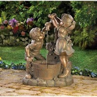 Fun And Play Children Garden Water Fountain