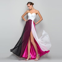Wedding Dress Summer Bra Split Prom Dress [10972829647]