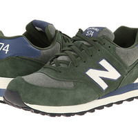 New Balance Classics ML574 - Pennant Collection Green/White - Zappos.com Free Shipping BOTH Ways