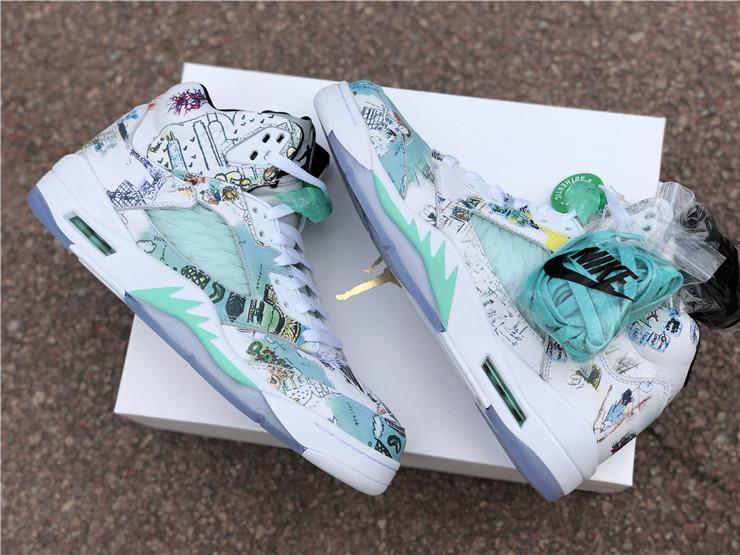 Image of VIP AJ 5 WINGS color matching