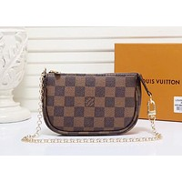 LV Louis Vuitton LV Hot Sale Women Fashionable Leather Shoulder Bag Handbag Crossbody Satchel