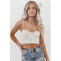 Lie To Me Lace Crop Top