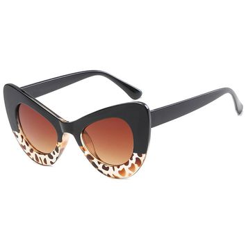Anti Fatigue Full Frame Pattern Sunglasses
