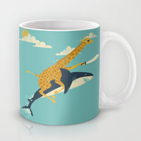 Onward! Mug by Jay Fleck