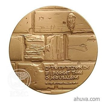 The Western Wall - Bronze Medal