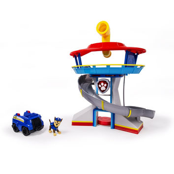 Nickelodeon Paw Patrol Look-out and Vehicle Playset