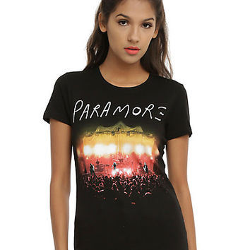 Paramore Live Lights Girls T-Shirt